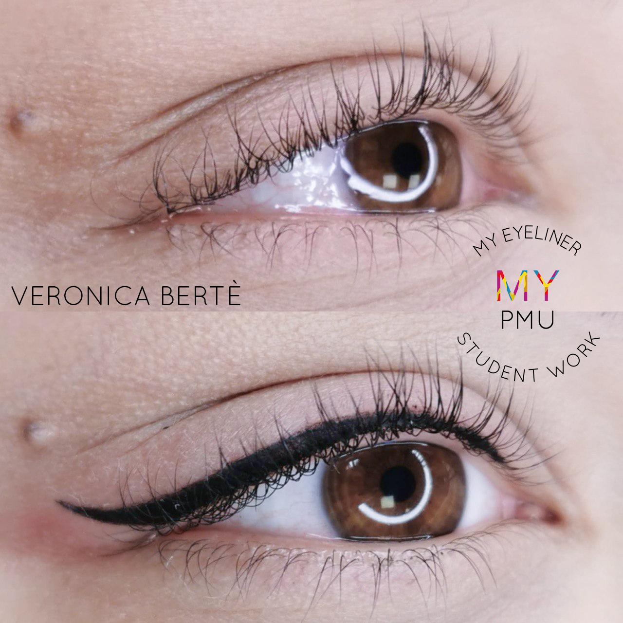 Lavoro allieve my eyeliner Bertè Veronica