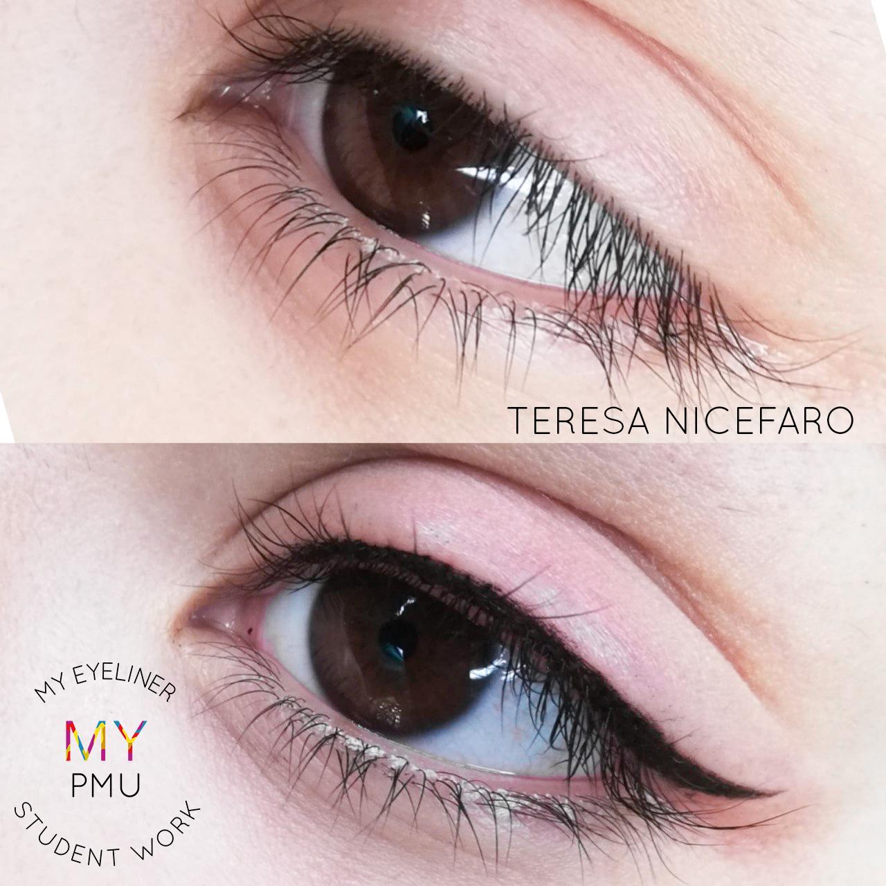 Lavoro allieve my eyeliner Nicefaro Teresa