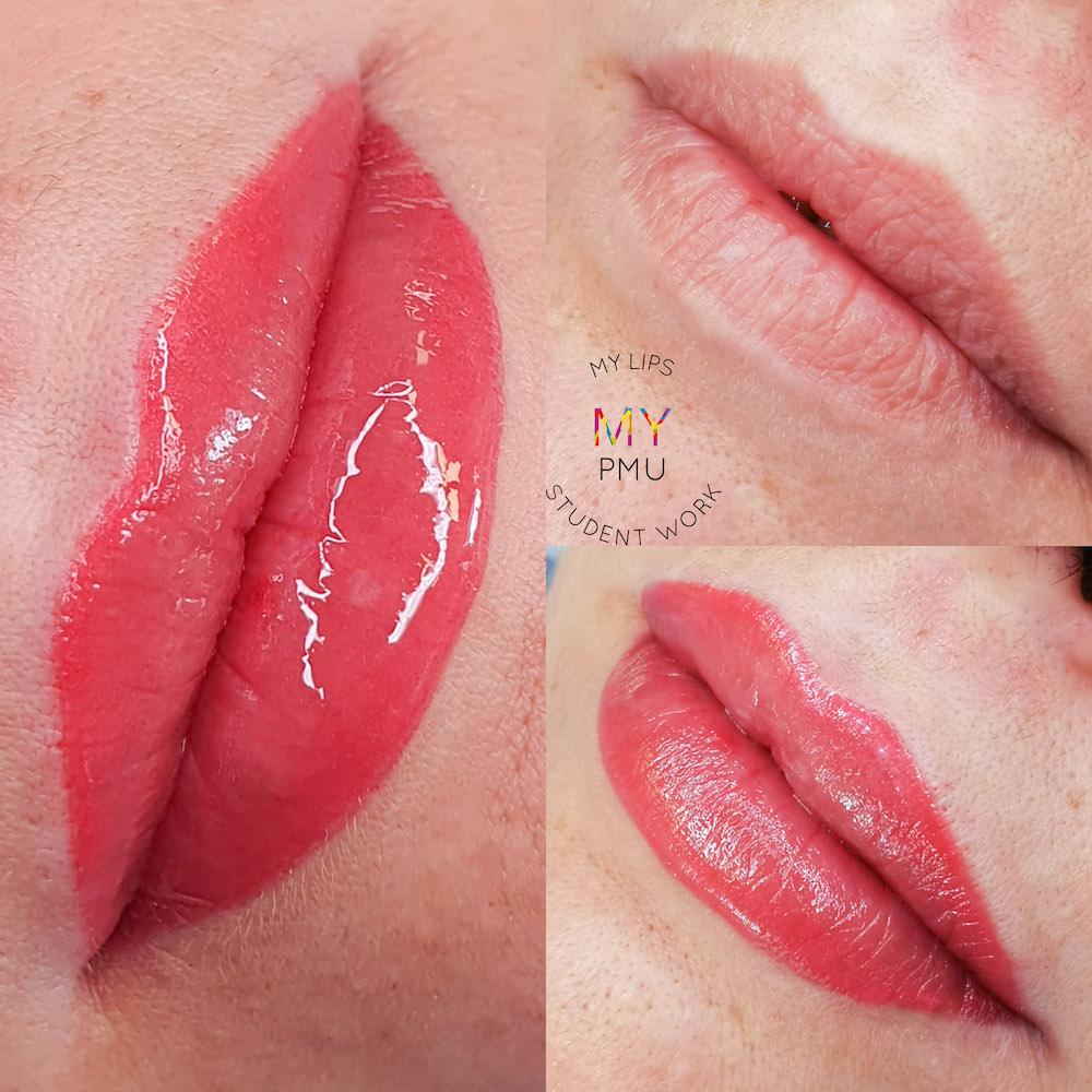 Lavoro allieve my translucent lips Bertè Veronica (2)
