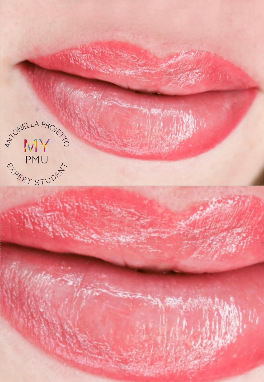 Lavoro allieve my translucent lips Proietto Antonella