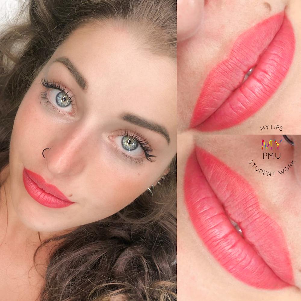 Lavoro allieve my translucent lips Student Work (1)