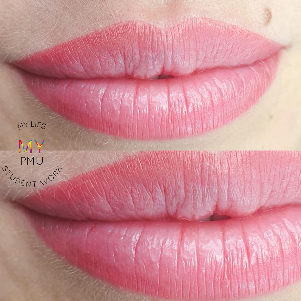 Lavoro allieve my translucent lips Student Work (2)