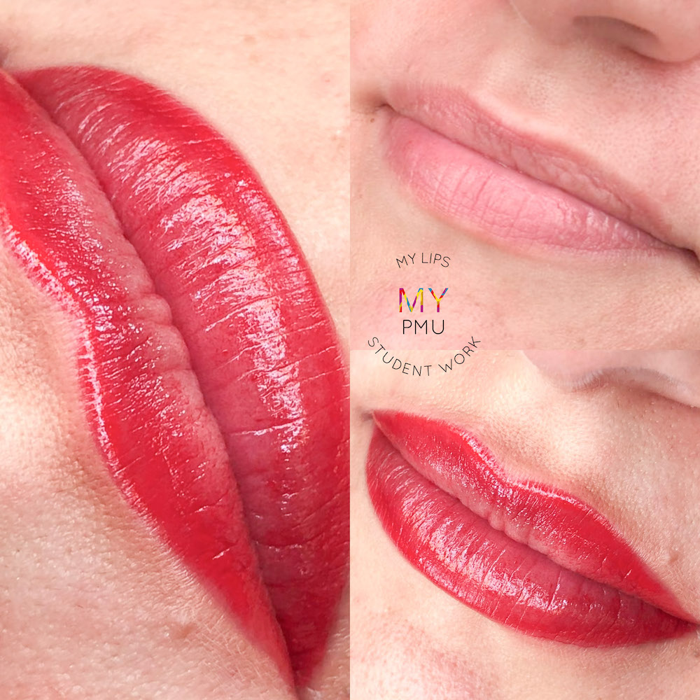 Lavoro allieve my translucent lips Zuccarà Rosanna